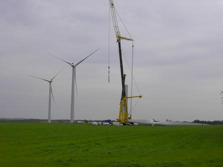 Building 1500 kW turbines